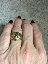 $35 Lucky Brand Gold Tone Owl Ring. Size 7