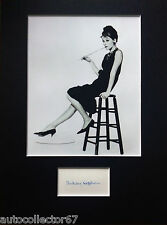 AUDREY HEPBURN signed autograph PHOTO DISPLAY BREAKFAST AT TIFFANYS