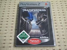 Transformers The Game für Playstation 2 PS2 PS 2 *OVP* P
