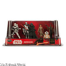 Disney Store Star Wars The Force Awakens Figurine Play Set Kylo Cake Toppers NEW