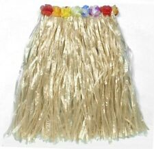 Hawaiian Hula Girl Beach Hawaii Grass Skirt 80cm Length Fancy Dress P7388