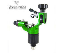 HUMMINGBIRD Aluminum Rotary Tattoo Machine RCA Liner Shader Supply Ink (GREEN)