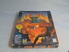 "Doom 2 for PC Big Box IBM 3.5"" Floppy - Complete! Vintage !"