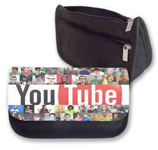 YOUTUBE Banda Estuche/Bolsa De Maquillaje Ideal Para La Escuela (collage) Top youtubers