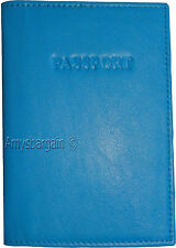 Leather passport Cover International leather Passport holder built in card space