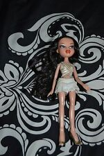 "2001 BRATZ 9"" Doll w/ Clothes, Brown Hair, Blue Eyes, GUC"