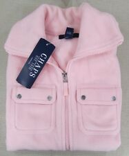 CHAPS By RALPH LAUREN Women's Fleece Vest Pink Medium NEW NWT