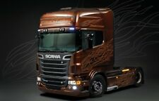 Italeri [ITA] 1/24 Scania R730 Black Amber Plastic Model Kit 3897 ITA3897