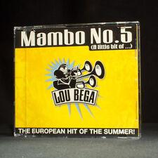Lou Bega - Mambo Nr. 5 - musik cd EP