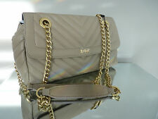 GENUINE BIBA BEIGE LEXA QUILTED LEATHER SHOULDER BAG BNWT RRP £139.00