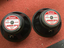 "Super ""dual cone"" 12"" GOODMANS Audiom 12PD 15 ohm nice, PA, guitar, Deep Purple"