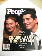 People Magazine  Back Issue 8-2 1999 John F Kennedy Jr Charmed Life Tragic Death