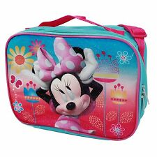Disney Minnie Mouse Insulated Soft Lunch Bag - Blue