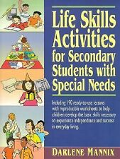 Life Skills Activities for Secondary Students with Special Needs by Darlene...