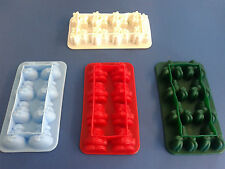 SILICONE Ice Cube Tray stampo Freeze cioccolato Jelly MOLD MAKER PARTY Bambini Cottura