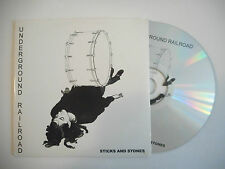UNDERGROUND RAILROAD : STICKS AND STONES ♦ CD SINGLE PORT GRATUIT ♦
