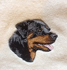 Rottweiler, Towel, Embroidered, Custom, Personalized, Dog, Rottie