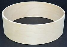 """Keller 10-Ply Maple 13"""" x 4"""" Snare/Piccolo Drum Shell, New & Unfinished"""