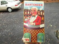 ROSKO 0350 BARTENDER JAPAN TIN METAL BAR TOY BOX *ONLY*