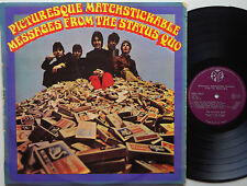 STATUS QUO Picturesque Matchstickable Messages From The NEW ZEALAND 60s Orig LP