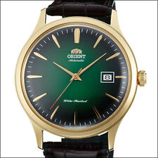 Orient Bambino Version 4 Automatic Dress Watch, Green Dial, 42mm Case #AC08002F