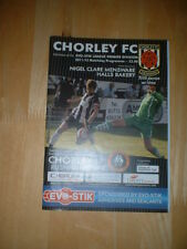2011/12 CHORLEY V RUSHALL OLYMPIC - NORTHERN PREMIER