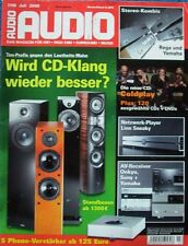"Audio 7/2008 - report: ""Loudness-était"", Linn sneaky, phono-préamplificateur,..."