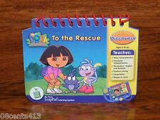 LeapFrog Dora The Explorer Game *Book Only* For My First LeapPad Learning System