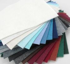 """21 - 6""""X12"""" Winter Colors Collection - Merino Wool blend Felt Sheets"""
