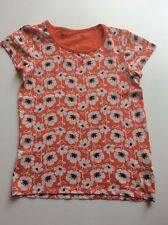 Girl's NEXT Red, White & Navy Floral T-Shirt Age 10 years