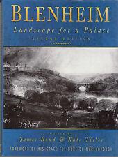 Blenheim Landscape for a Palace By James Bond & Kate Tiller (Hardcover 2000)