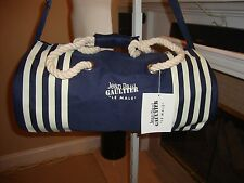 STYLISH, BRAND NEW WEEKEND/CARRY ON DUFFLE BAG BY JEAN PAUL GAULTIER (NWT)