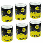 600 CDR MAXELL BLANK DISCS CD-R RECORDABLE CD 700 MB-80 MIN 52x SHRINK WRAP