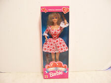 MATTEL 1995 SPECIAL EDITION VALENTINE SWEETHEART BARBIE DOLL NIB