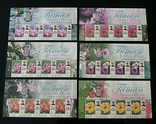 Malaysia Garden Flowers New Definitive Issue Johor Sultan 2016 (stamp title) MNH