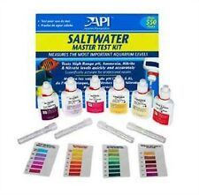 Aquarium Saltwater Master Test Kit 64 OUNCES Fish Tank Salt Water Testing NEW