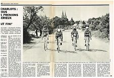 Coupure de presse Clipping 1972 (4 pages) Les Charlots