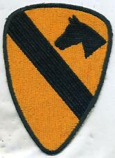 US Army Vietnam Era 1st Cavalry Color Patch Cut Edge