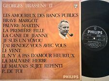 DISCO LP - GEORGES BRASSENS II N.2 - PHILIPS ITA 844 751 BY - GD+/VG