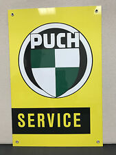 Puch Racing advertising sign oil gas german metal moped motorcycle