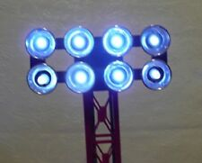 COOL White LED Lamp Replacement kit, (bulbs) - Lionel Floodlight Towers