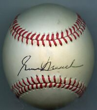 GENE MAUCH Signed Baseball 1964 Phillies 1986 Angels Expos  KOA Authenticated