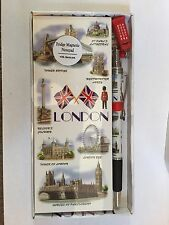 London magnetic notepad With Charm Pen Souvenir Gift