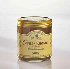 Quillaja Honig 100% naturreiner Bienenhonig dunkel cremig nussig 1A ! NEU !