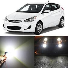 Alla Lighting Fog Light 881 Super White 50W LED Bulbs for 2000~17 Hyundai Accent