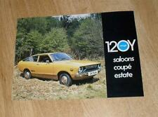 Datsun 120Y Range Brochure 1975 - Saloon - Coupe - Estate
