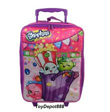 "New Arrival 2016 Shopkins Girls Kids 16"" Large School Rolling Backpack"