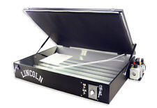 Lincoln Vacuum Exposure Unit for Screen Printing screenprinting silk screening