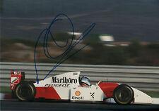 Mika Häkkinen Autogramm signed 20x30 cm Bild