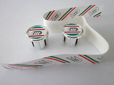 NOS 3TTT HANDLEBAR END PLUGS CAPS WITH TAPES